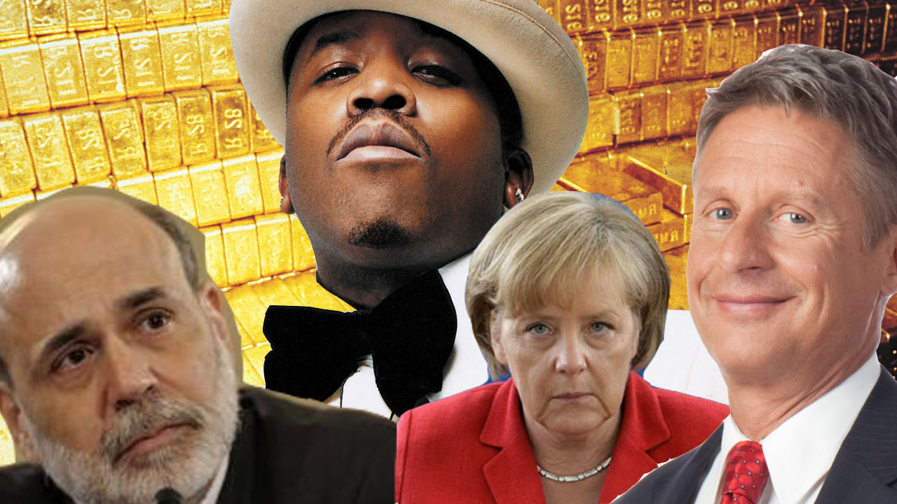 Germany Repatriates Gold & Big Boi Votes Libertarian