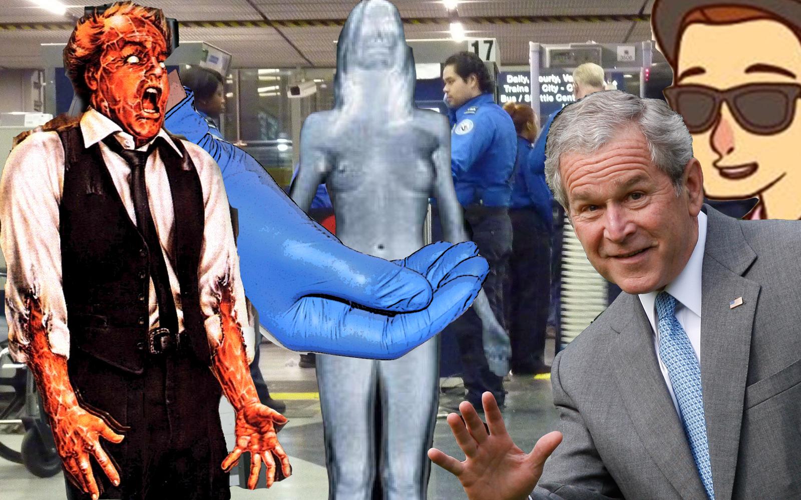 Goodbye TSA Porno Scanners