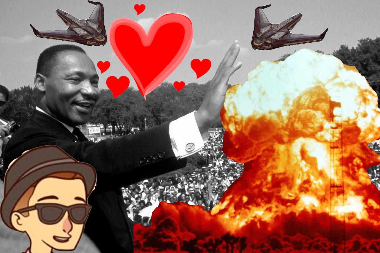 MLK Hearts Nukes & Rothbard on Smartphones