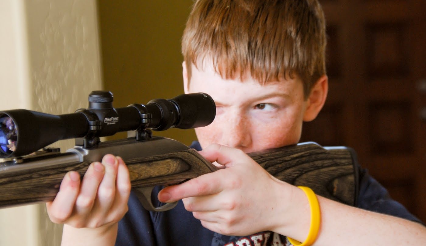 Boy Defends Sister with AR-15