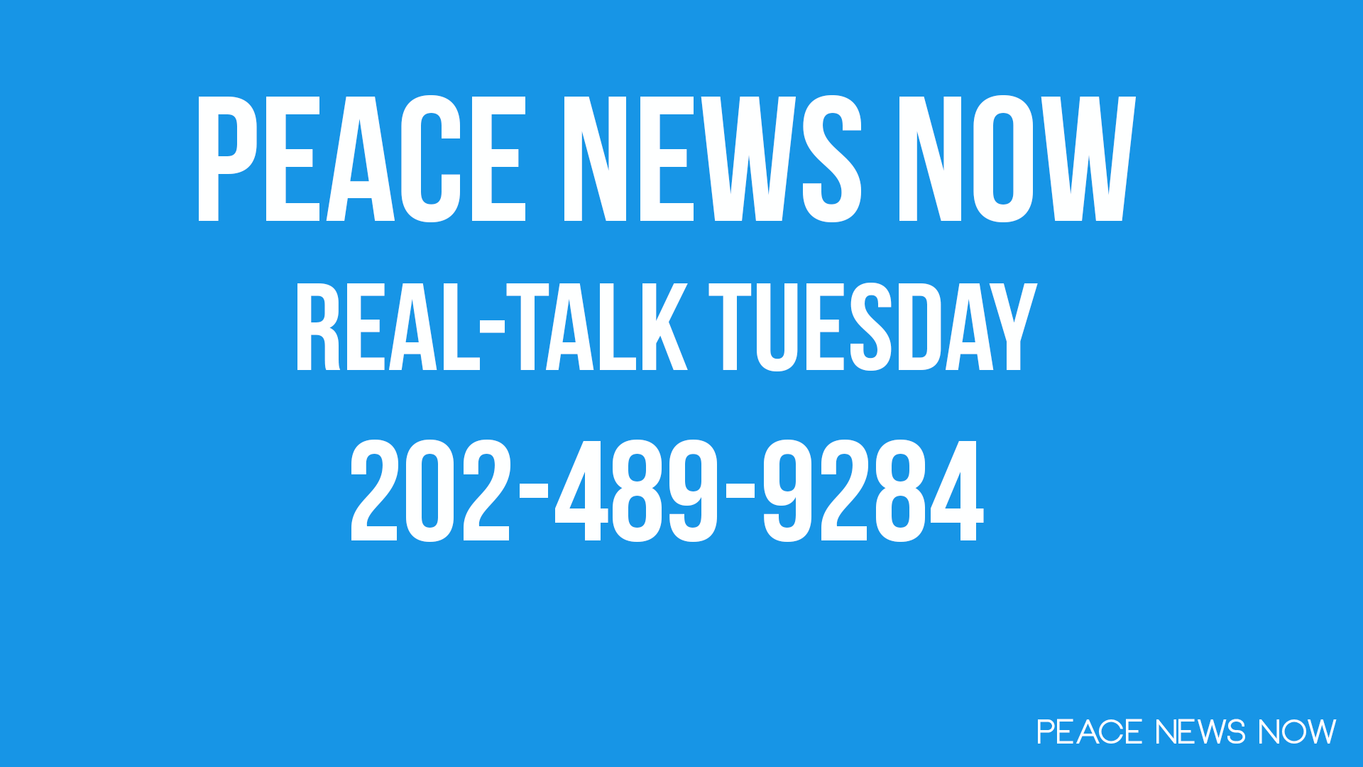 PNN Live Real-Talk Tuesday 2013-07-16