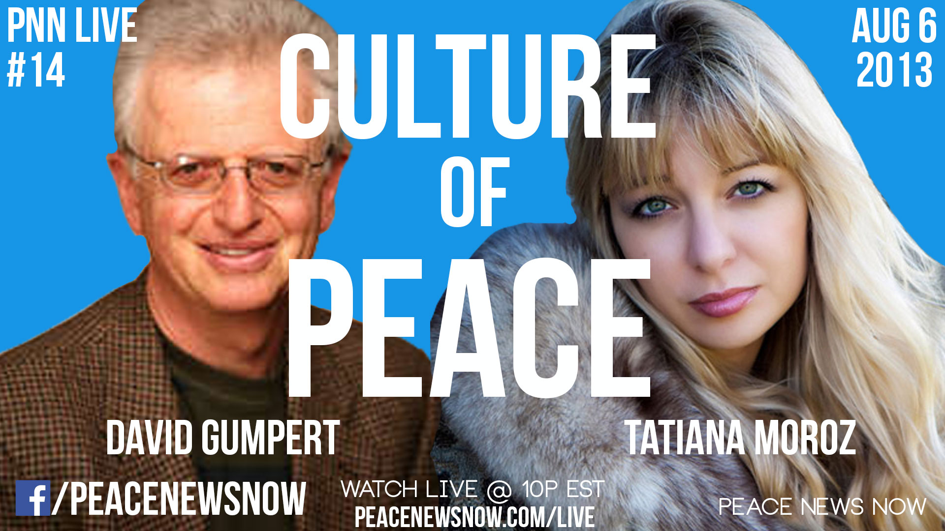 PNN Live #14 – Peace in Food & Arts
