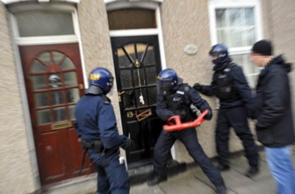 Fascist Cops Raid Reporter's Home