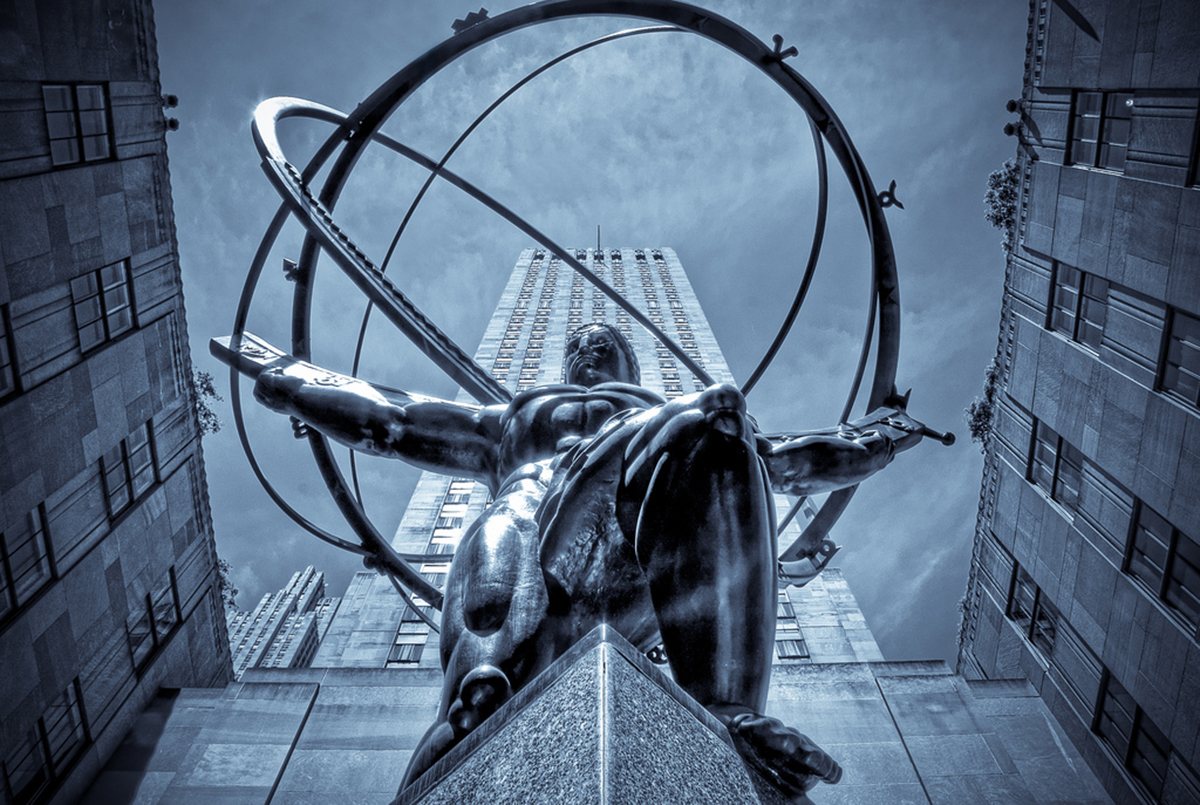 The-Atlas-Statue-At-Rockefeller-Center