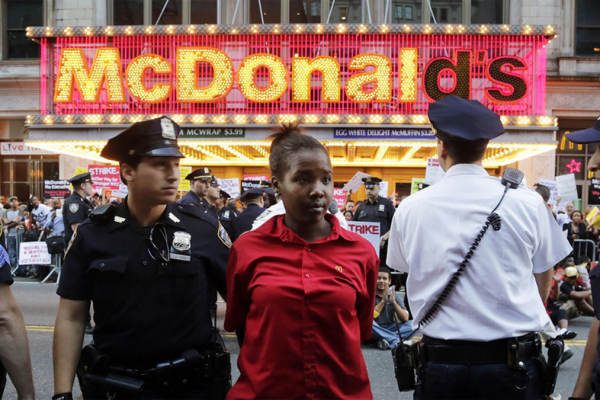 Hundreds Arrested for Fast Food | PNN 113 | Sept 7, 2014
